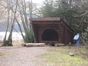 Check out our Trailblazer's shelter