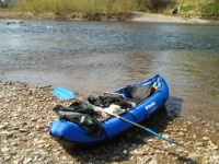 Inflatable canoe incident - Loch Lochy
